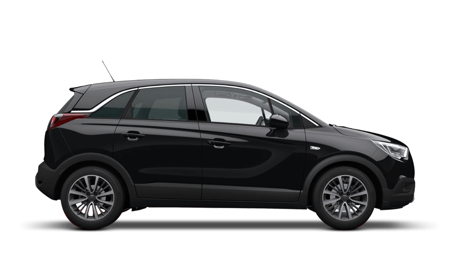 Diamond Black (Metallic) Vauxhall Crossland X