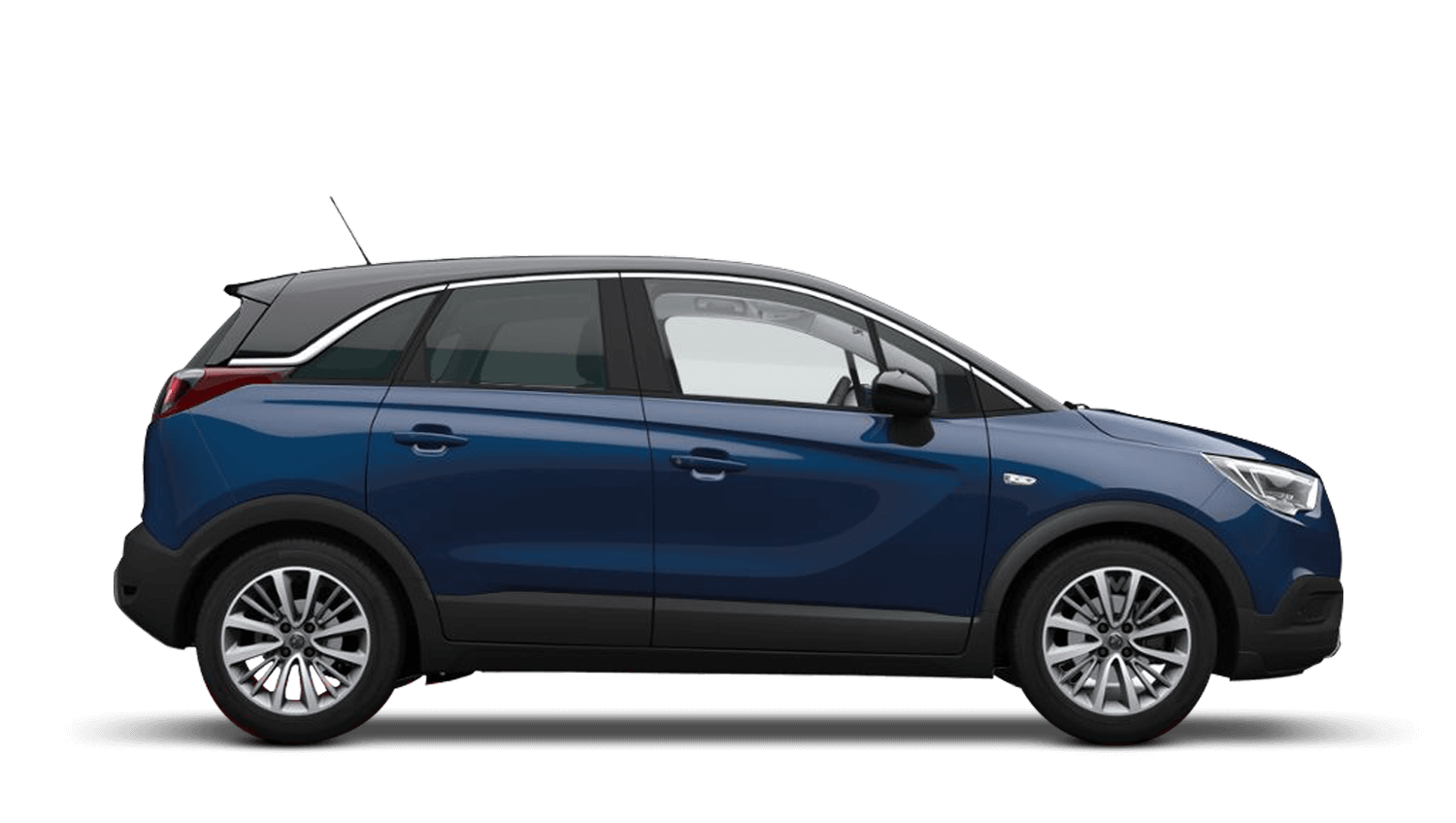 Navy Blue (Metallic) Vauxhall Crossland X