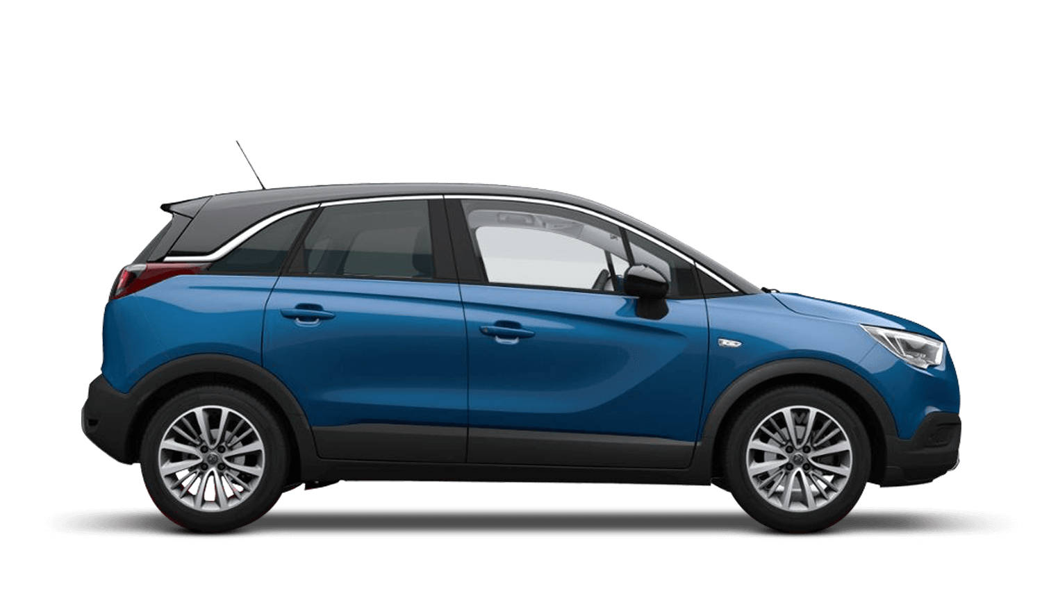 Persian Blue (Metallic) Vauxhall Crossland X