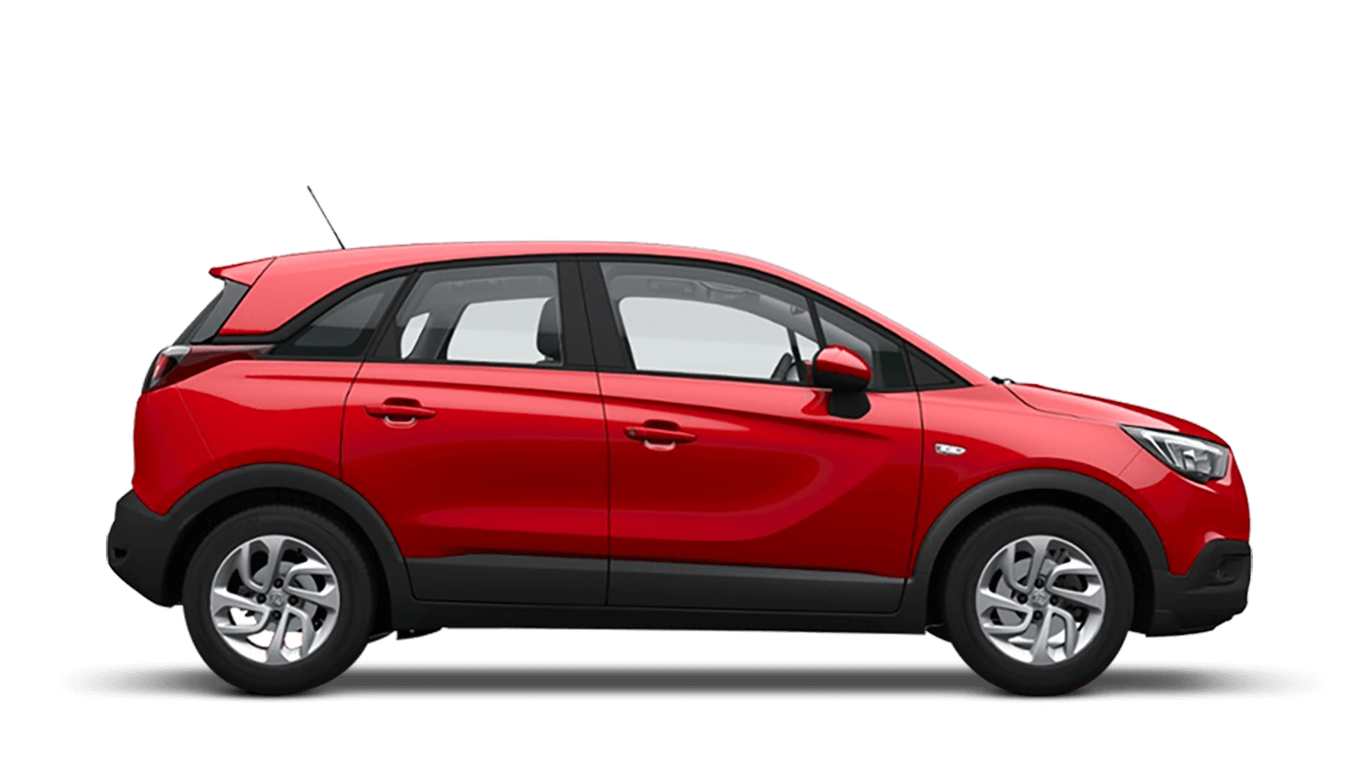 Lava Red (Brilliant) Vauxhall Crossland X
