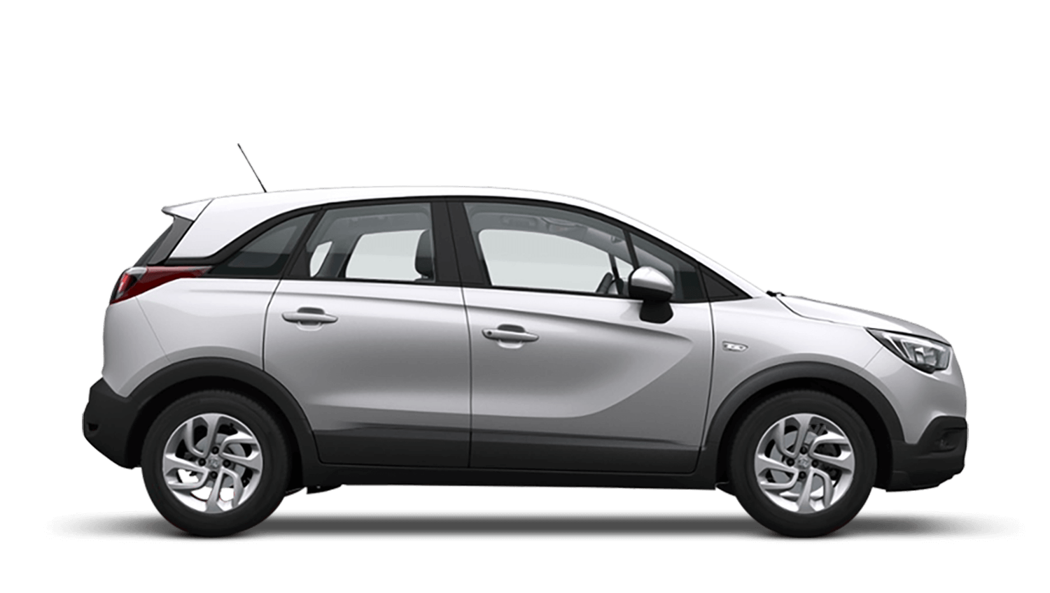 Sovereign Silver (Metallic) Vauxhall Crossland X