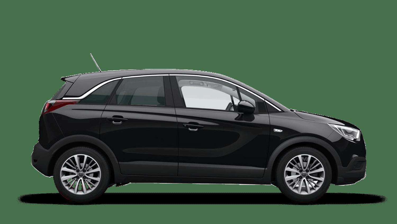 Diamond Black (Metallic) Vauxhall Crossland X