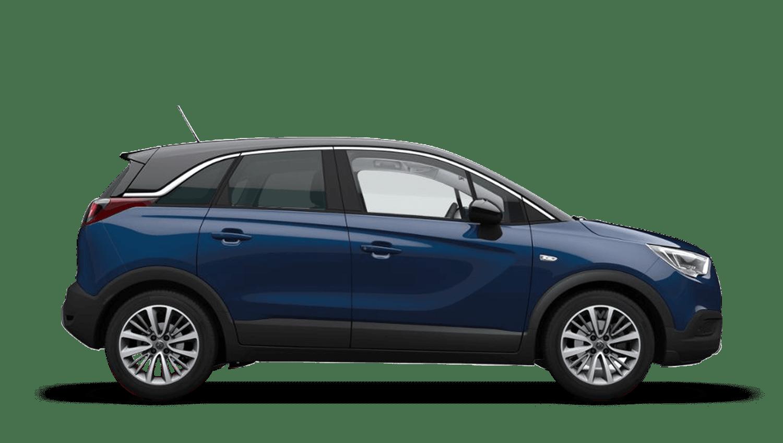 Navy Blue (Metallic) Vauxhall Crossland X