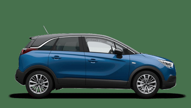 Persian Blue (Metallic) Vauxhall Crossland X