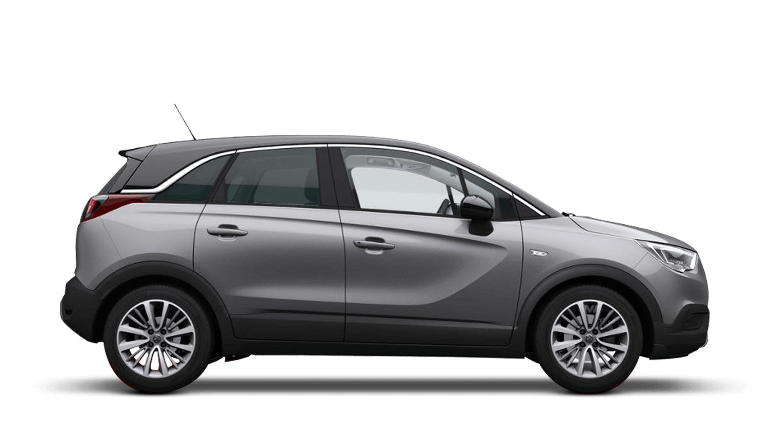 Quartz Grey (Metallic) Vauxhall Crossland X
