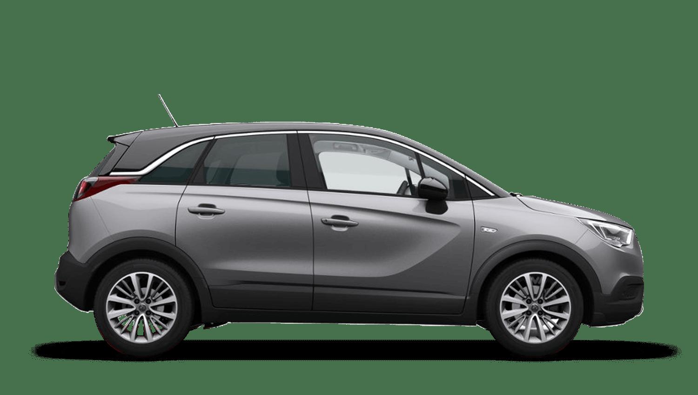 Quartz Grey (Metallic) Vauxhall Crossland X