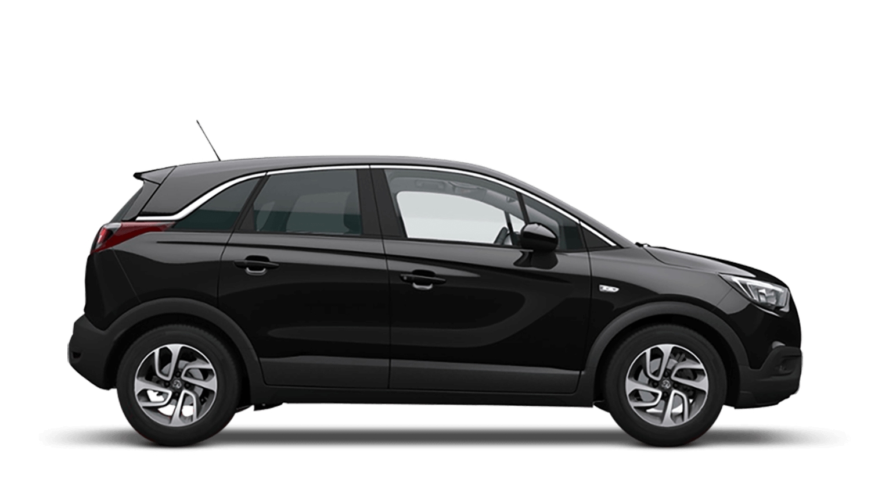 Mineral Black (Metallic) Vauxhall Crossland X