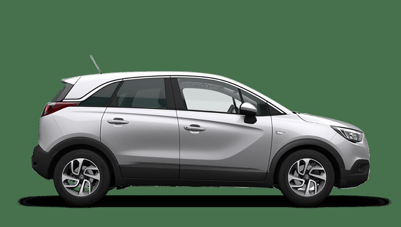 Sovereign Silver (Metallic) Vauxhall Crossland X