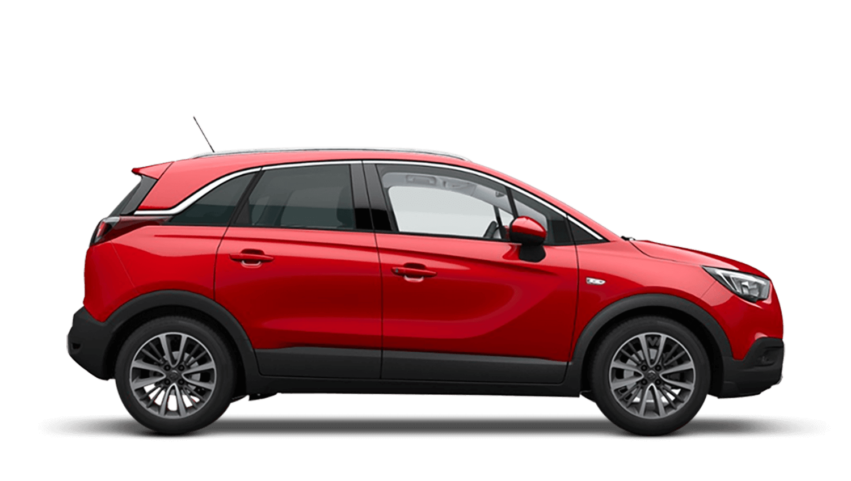 Lava Red (Brilliant) Vauxhall Crossland X