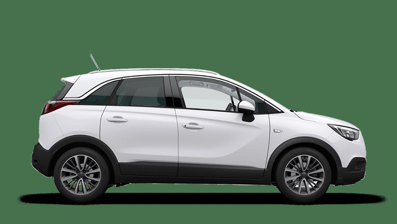 Summit White (Brilliant) Vauxhall Crossland X