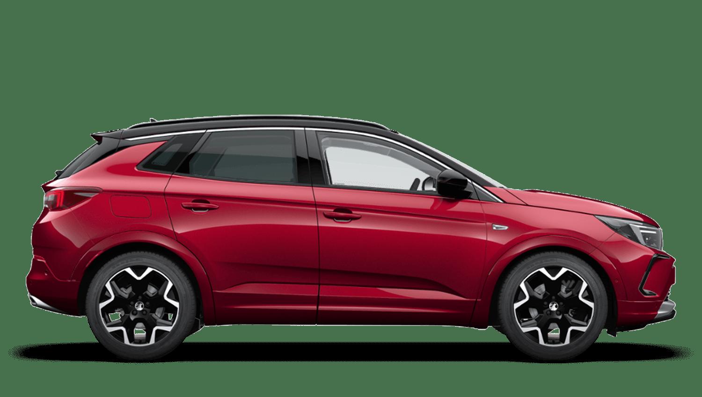 Dark Ruby Red (Metallic) Vauxhall Grandland