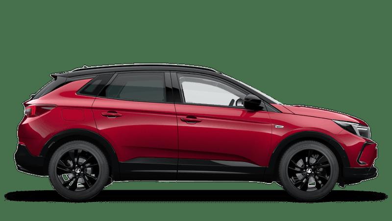 Dark Ruby Red (Metallic) Vauxhall Grandland Hybrid