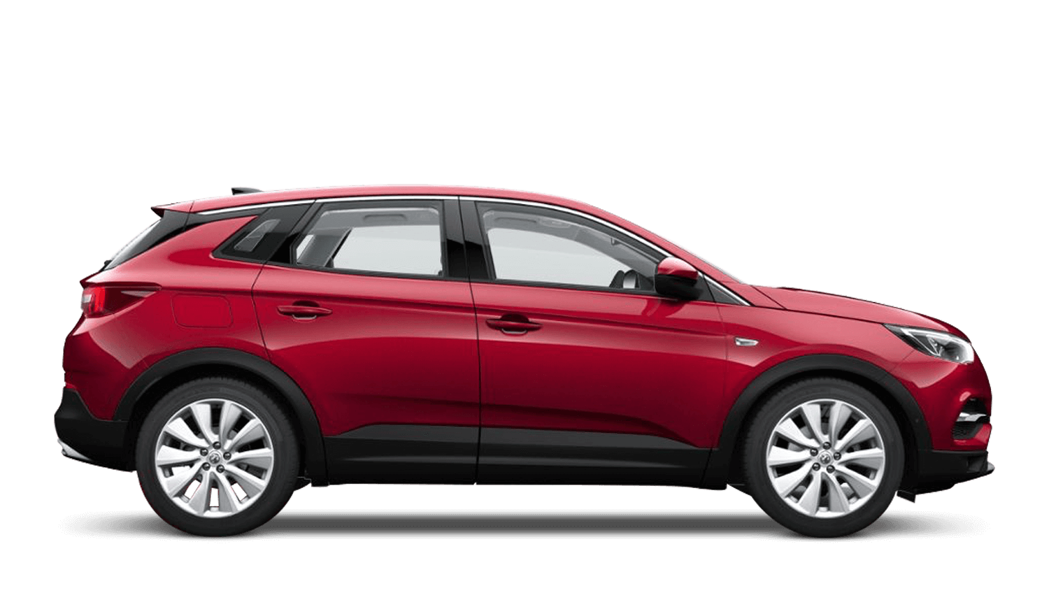 Dark Ruby Red (Metallic) Vauxhall Grandland X