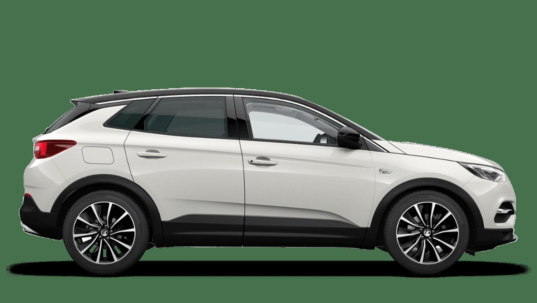 Pearl White (Tri-Coat) Vauxhall Grandland X