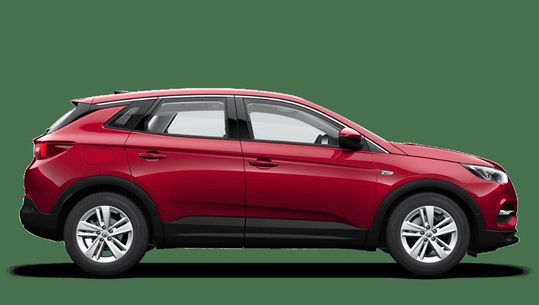 Dark Ruby Red (Metallic) Vauxhall Grandland X