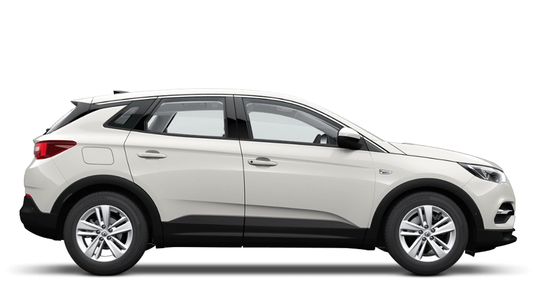 Pearl White (Tri-coat Premium) Vauxhall Grandland X