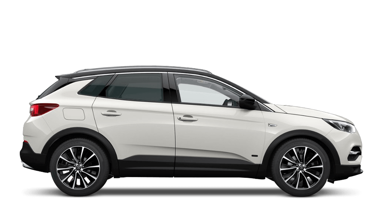 Pearl White (Tri-coat Premium) Vauxhall Grandland X Hybrid