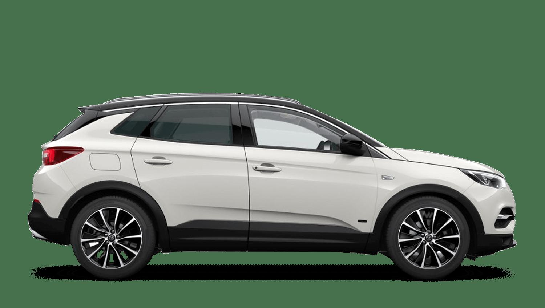 Pearl White (Premium) Vauxhall Grandland X Hybrid