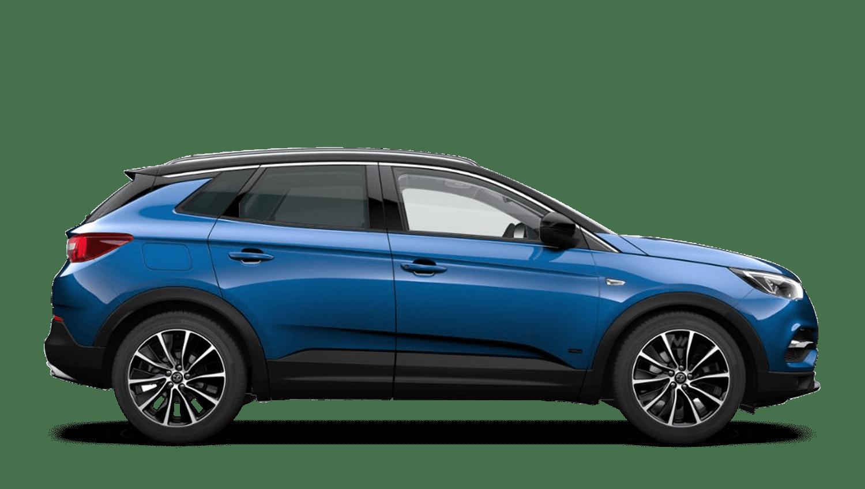 Topaz Blue (Premium Metallic) Vauxhall Grandland X Hybrid