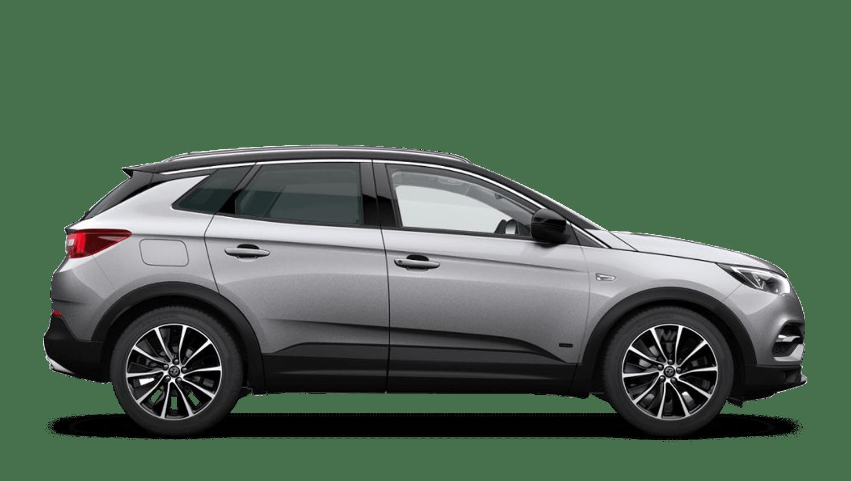 Quartz Grey (Metallic) Vauxhall Grandland X Hybrid