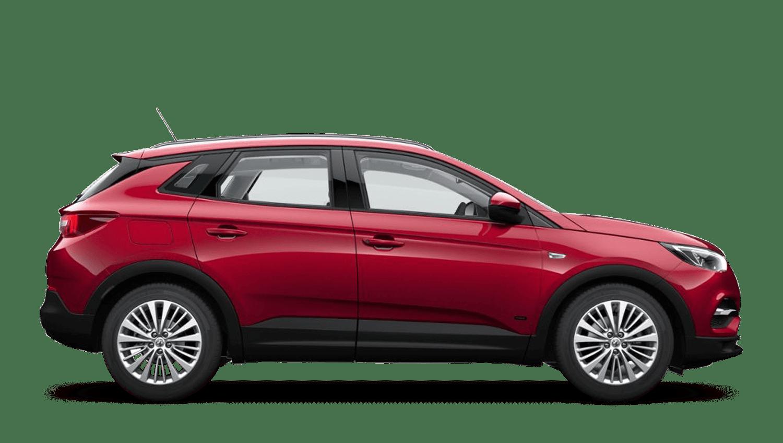 Dark Ruby Red (Premium Metallic) Vauxhall Grandland X Hybrid