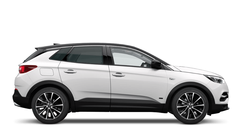 White Jade (Brilliant) Vauxhall Grandland X Hybrid