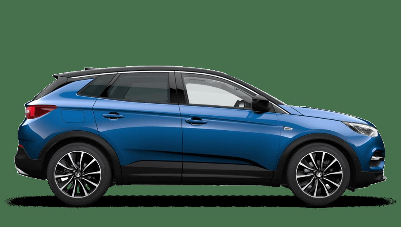 Topaz Blue (Premium Metallic) Vauxhall Grandland X