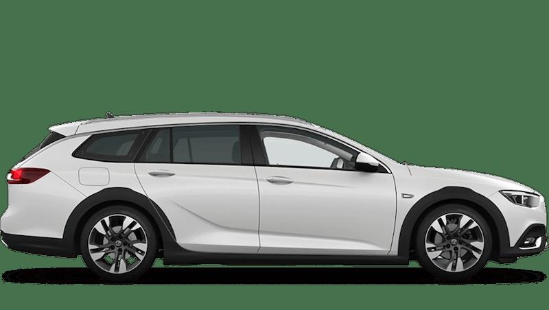 Abalone White (Tri-coat Premium) Vauxhall Insignia Country Tourer