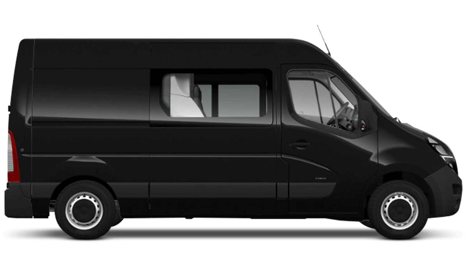 Pearl Black (Metallic) New Vauxhall Movano