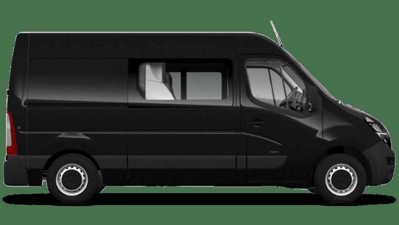 Pearl Black (Metallic) Vauxhall Movano