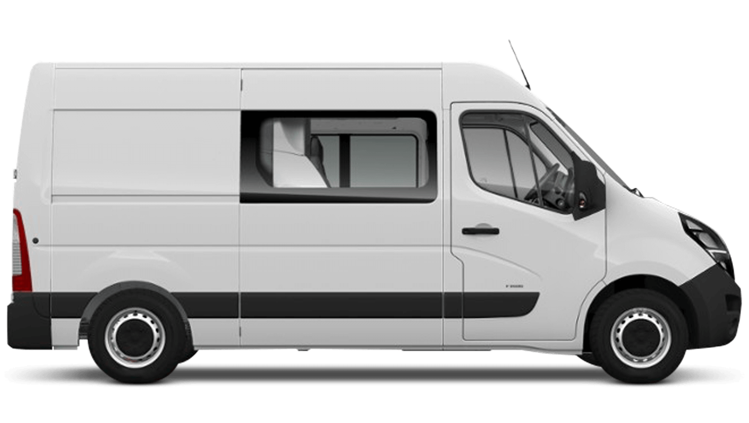 Polar White (Solid) New Vauxhall Movano