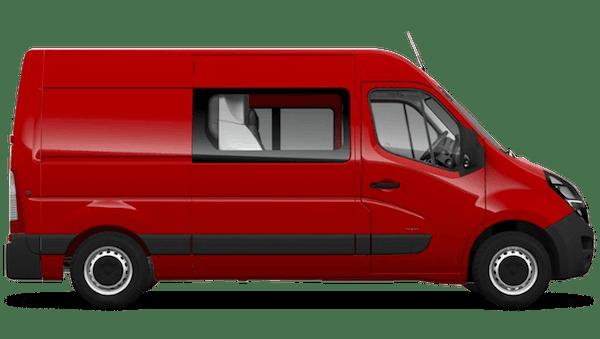 Vauxhall Movano New Doublecab
