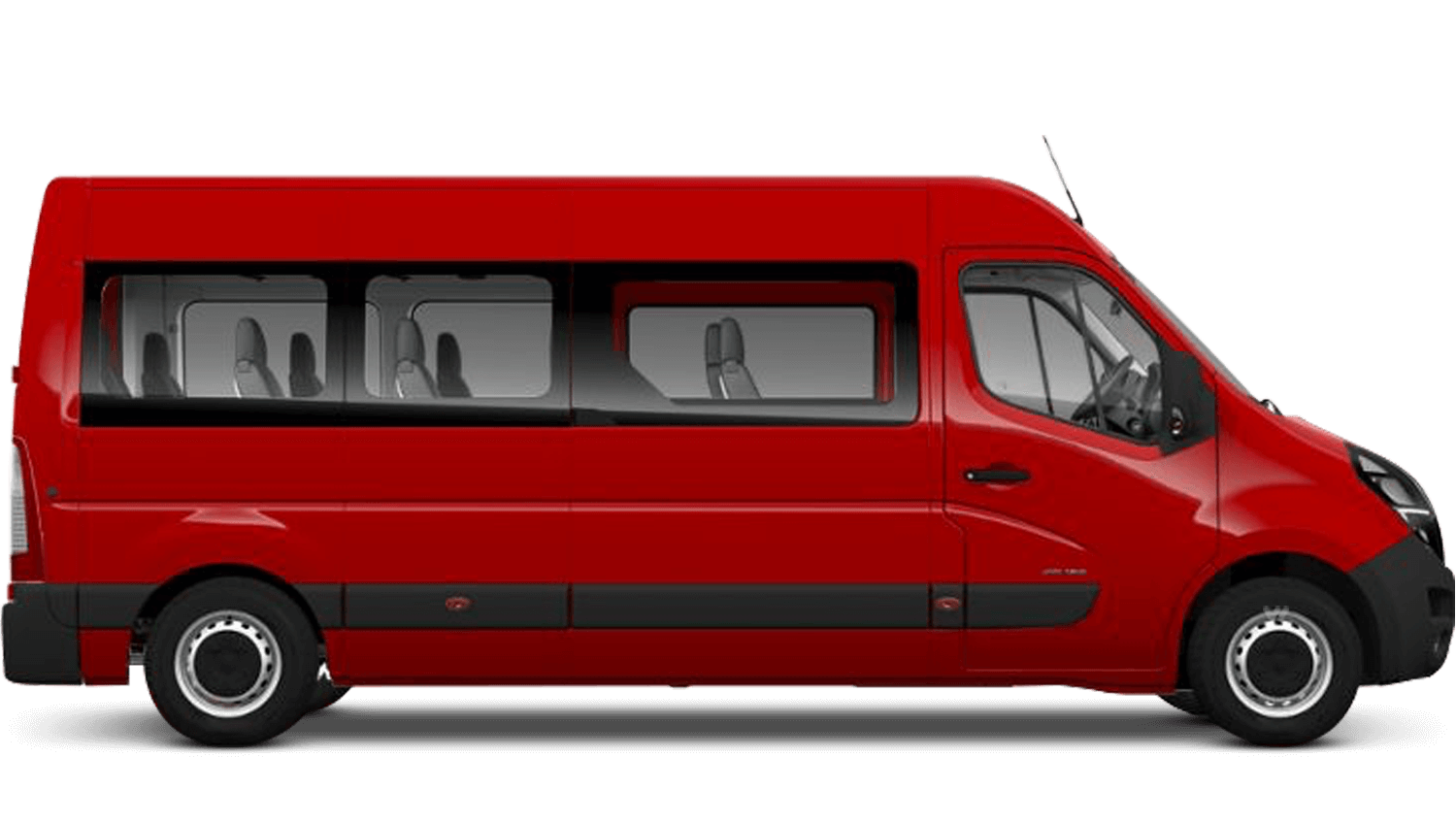 Poppy Red (Brilliant) New Vauxhall Movano
