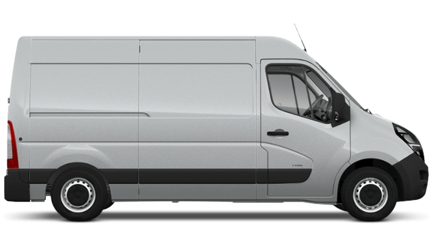 Halo Silver (Metallic) New Vauxhall Movano