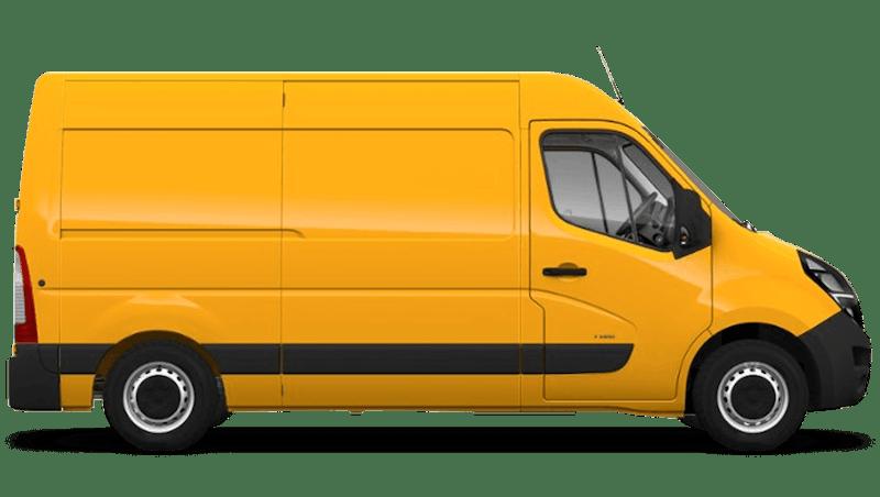 Mandarin Orange (Brilliant) Vauxhall Movano