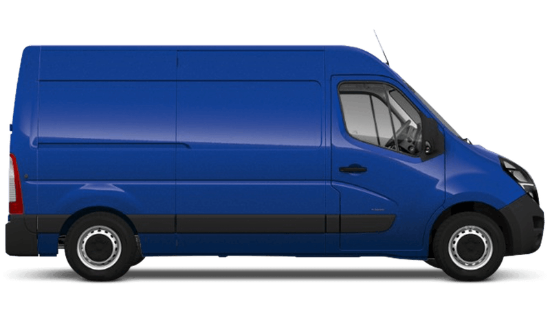 North Sea Blue (Solid) Vauxhall Movano