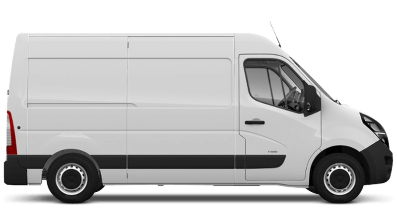 Polar White (Solid) Vauxhall Movano