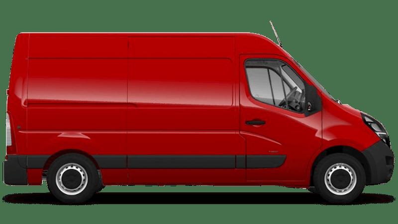 Poppy Red (Brilliant) Vauxhall Movano
