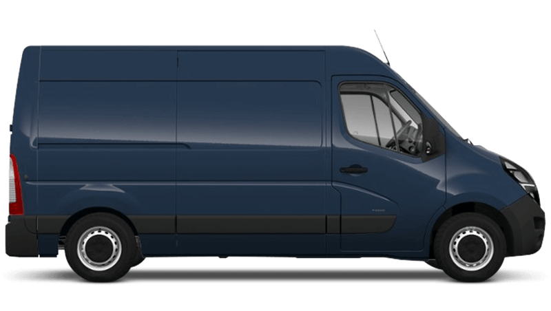 Signal Blue (Solid) Vauxhall Movano
