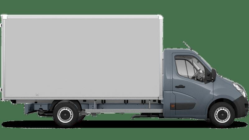 Ambient Blue (Metallic) Vauxhall Movano Box Van