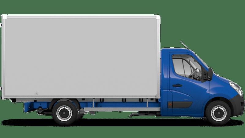 North Sea Blue (Solid) Vauxhall Movano Box Van