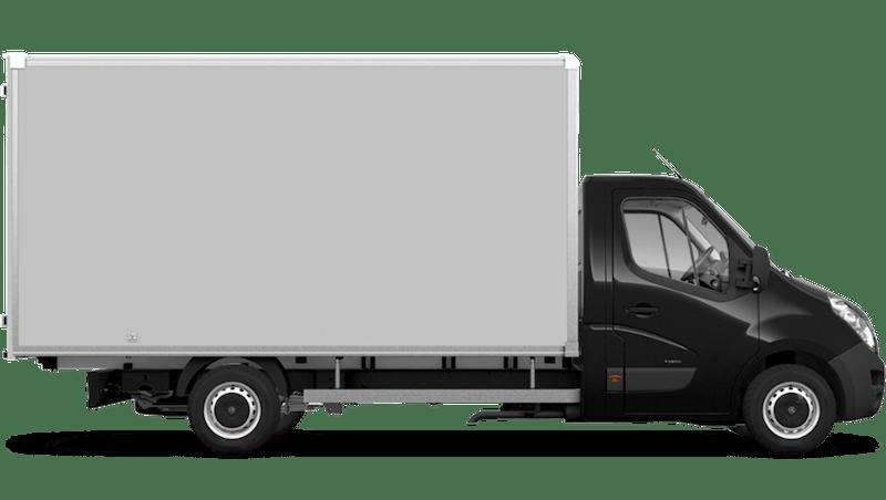 Pearl Black (Metallic) Vauxhall Movano Box Van