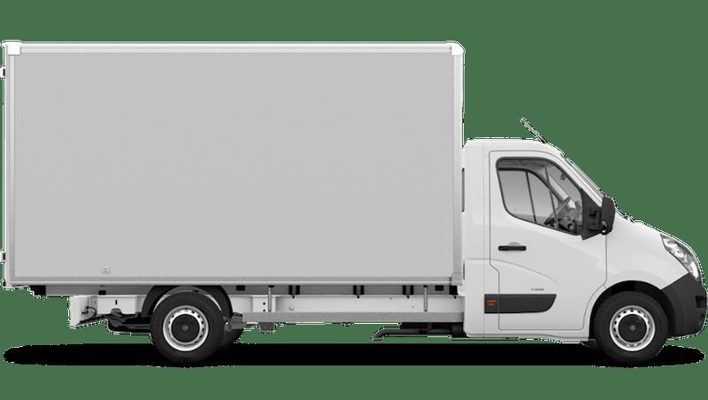 Polar White (Solid) Vauxhall Movano Box Van