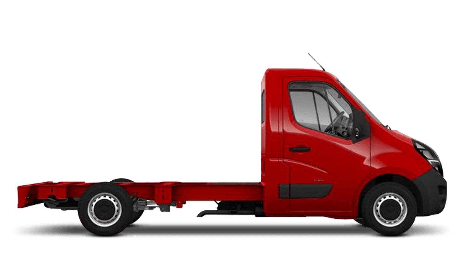 Poppy Red (Brilliant) New Vauxhall Movano Conversions