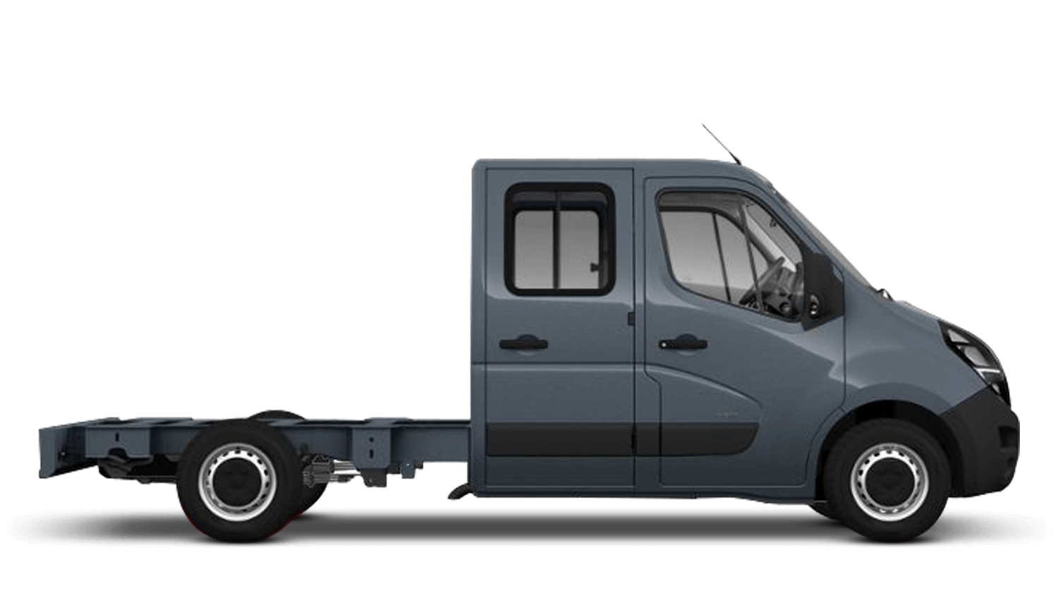Ambient Blue (Metallic) New Vauxhall Movano Conversions