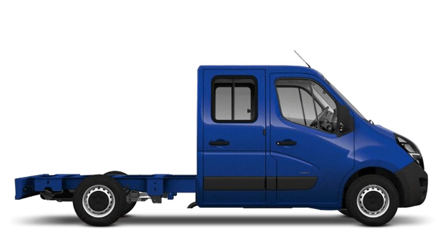 North Sea Blue (Solid) New Vauxhall Movano Conversions