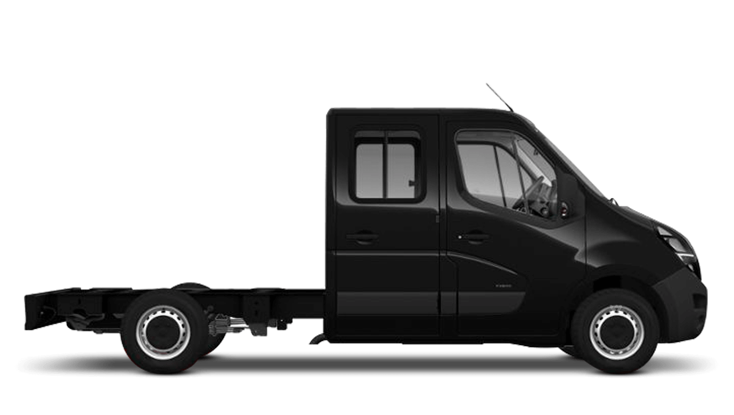 Pearl Black (Metallic) New Vauxhall Movano Conversions