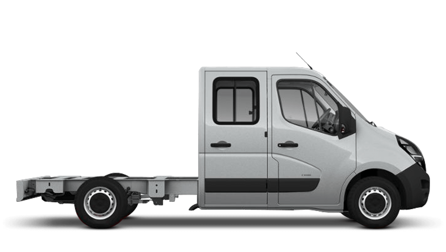 Halo Silver (Metallic) New Vauxhall Movano Conversions