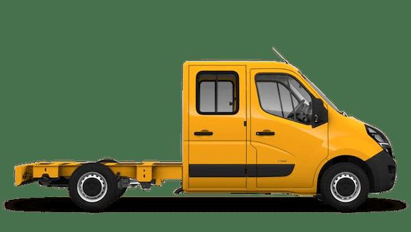 Vauxhall Movano Conversions New Crew Cab
