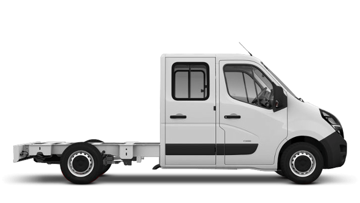 Polar White (Solid) New Vauxhall Movano Conversions